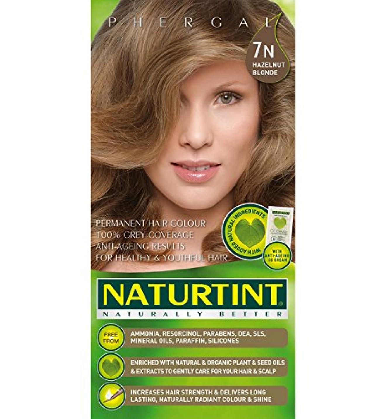 レバー苦情文句スマートNaturtint Hair Color 7N Hazelnut Blonde Count (並行輸入品)