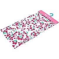 (メゾピアノ) MezzoPiano 浴衣 子供 女の子 単品 ピンク イチゴ ドット ハート 100cm・110cm・120cm・130cm