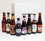 世界を旅するプレミアムビール4ヶ国8本セット[スペイン イギリス ドイツ ベルギー]【オープナー付】 [ 2560ml/8本 ]