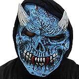 WeiYun ハロウィン 怖い 悪魔マスク - テラーリスト トゥシー マスク 生きているような ウォーキング ホラー ゴースト 悪魔 マスク コスプレ コスチューム パーティー 記念品 ハロウィン 醜い映画小道具 ラテックスマスク 1個 WeiYun