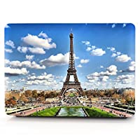 13.3 air inch macbook case,eiffel tower hard PC slim ultra-thin macbook shell cover case DIGIC high protection plastic hard shell macbook case for 13 air inch laptop (A1369 and A1466) (eiffel tower)