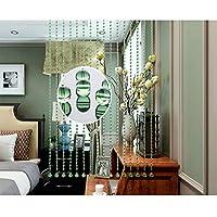 GDMING 25ストランド ビーズカーテン 結晶 ストリングカーテン 屋内 ブリン 間仕切り ウィンドウパネル 寝室 デコレーション 、カスタマイズ可能 (Color : Green, Size : 25 strands-60x80CM)