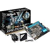 ASRock マザーボード X99 Mini-ITX SATA3 M.2 USB3.1 X99E-ITX/ac
