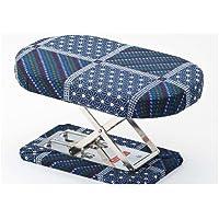 ニューらくらく正座椅子 2段調整切替式 紺