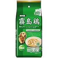 愛情物語 ドッグフード 霧島鶏 ささみ角切り&緑黄色野菜 210g(70g×3)×4個(まとめ買い)