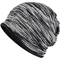 AMOH JERCY Year Round Double-Layer Stylish Soft Slouchy Beanie Neck Warmer Headband Scarf, Face Mask for Jogging, Hiking, Camping, Cycling, Fishing, Surfing, Boating and Other Outdoor Activities
