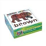 Mudpuppy (マッドパピー) くまさん くまさん なにみてるの? Eric Carle エリックカール 知育玩具 ブロックパズル えいご学習 子ども英語 Brown Bear Block Puzzle