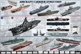 ポスター 空母 Aircraft Carrier Evolution