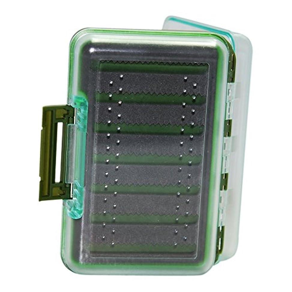 性交ヘビー洗練Fly box-medium size-impact resistant-clearプラスチック蓋