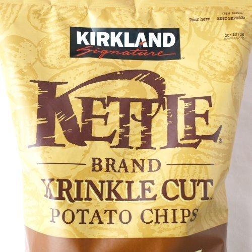Kirklandカークランドシグネチャー ケトルチップス(ポテトチップス)907g×2袋