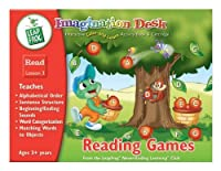 Imagination Desk: Reading Games Interactive Color-And-Learn Activity Book and Cartridge [並行輸入品]