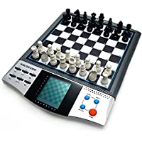 Chess Set Boards Game for Kids, 8 in 1 TALKING CHESS ACADEMY Handheld Games Computer, Talking Electronic Chess Master