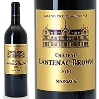 [2010] シャトー カントナック ブラウン 750ml (マルゴー第3級) 赤ワイン((ADCW0110))