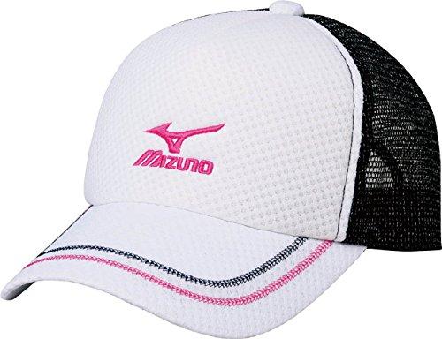 (ミズノ)MIZUNO テニスウェア キャップ [UNISEX] 62JW5200 01 ホワイト F -