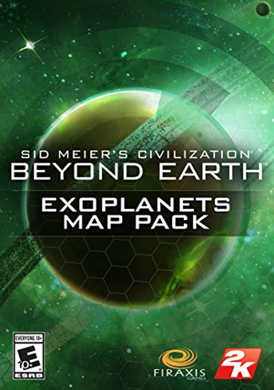 フォアマン愛情深い海上Sid Meier's Civilization: Exoplanets Map Pack [オンラインコード]