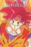 NOTEBOOK: Japanese Anime Lovers Gift Naruto Manga Senpai Notebook - Large 6 x 9 - Blush Notes 120 Pages