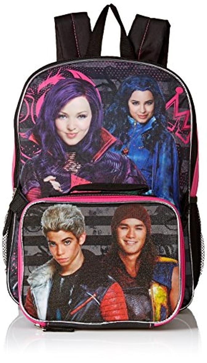 間進む分析的な[ディズニー]Disney Descendants 16 Backpack Bonus Detachable Lunchbox Bag Lunch Kit 156093 [並行輸入品]