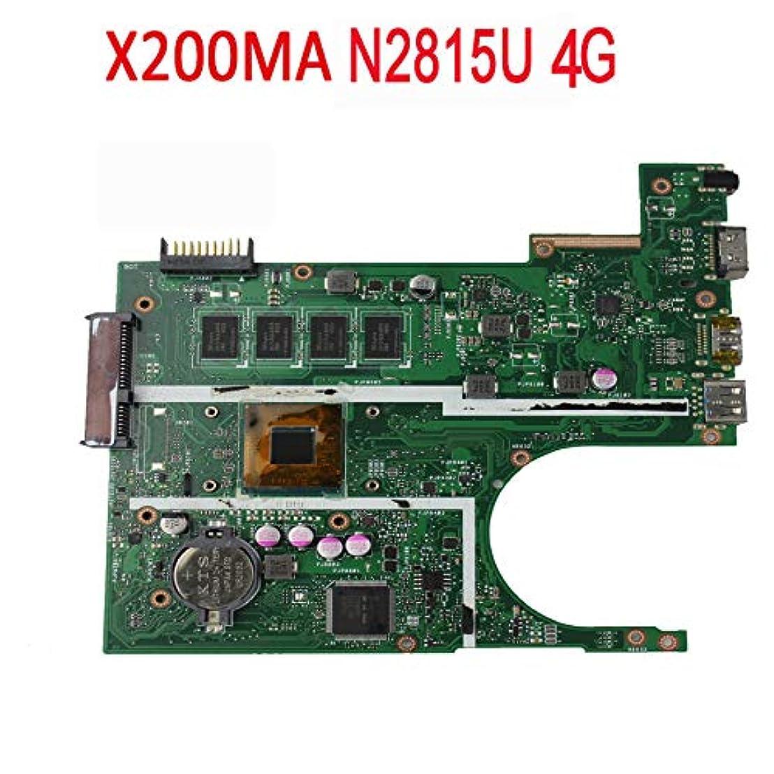 ペチュランスお母さん構想するFidgetGear Asus X200MAマザーボード4GB w/Intel Celeron N2815 CPU 60NB04U0-MB1B20用
