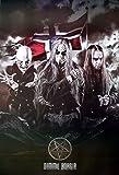 Dimmu BorgirノルウェーSymphonicブラックメタルバンド音楽ポスターサイズ24x 35インチ7018-m