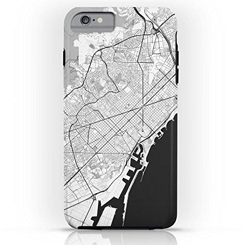 society6バルセロナマップグレータフケースiPhone 6s Plus