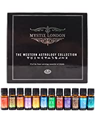 Mystix London | The Western Astrology Collection 12 x 10ml 100% Pure Essential Oil Blends