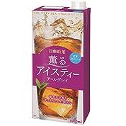 日東紅茶 薫るアイスティー アールグレイ 1L×6本
