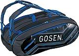 ゴーセン(GOSEN) テニス ラケットバッグ プロツアー (9本収納可能) ネオンブルー BA16PRT