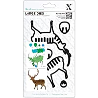 xcut Decorative Dies Large Christmas in The Country Stag【クリスマス】【オーナメント】 [並行輸入品]