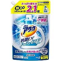 【大容量】アタック 抗菌EX スーパークリアジェル 洗濯洗剤 液体 詰替用 1.6kg
