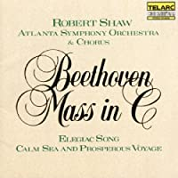 Beethoven: Mass in C, Elegiac Song, & Calm Sea and Prosperous Voyage by Shaw/ASO/Chorus (1990-10-10)