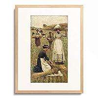 フランク・ディックシー Sir Frank Bernard Dicksee 「Gleaners. 1882」 額装アート作品