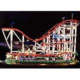 brickled Light Kit for Lego Creator Roller Coaster 10261 (Lego Set not Included)