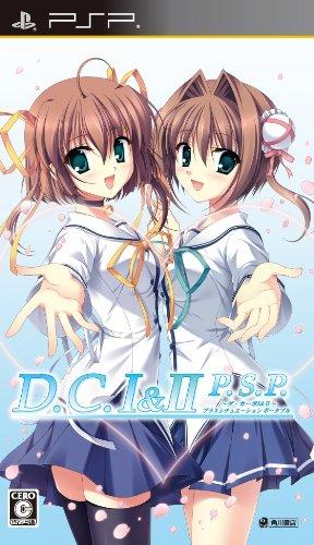 {PSP}D.C.I&II P.S.P. 〜ダ カーポI&II〜プラスシチュエーションポータブル 通常版 20101028
