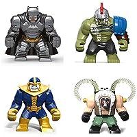 ミニフィギュア ミニフィグ ビッグサイズ スーパーヒーロー レゴ対応 互換