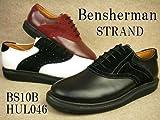 STRAND BS10B-HUL04 ストランド メンズ プレーントゥ メダリオン ベンシャーマン画像①