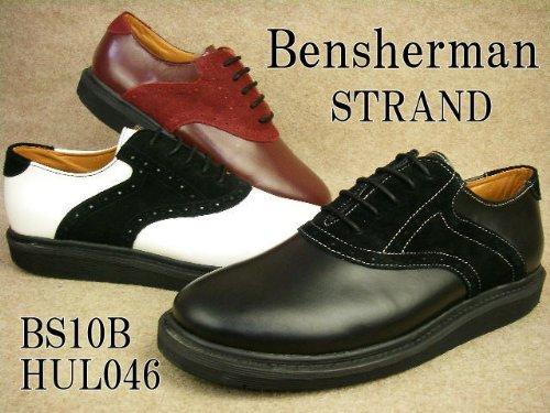 STRAND BS10B-HUL04 ストランド メンズ プレーントゥ メダリオン ベンシャーマン