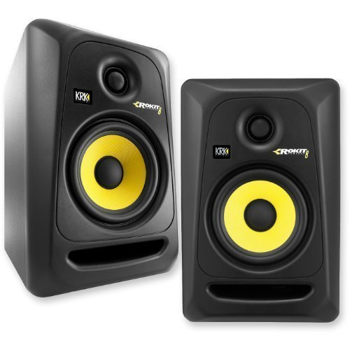 KRK RP8G3-NA Rokit 8 Generation 3 Powered Studio Monitor - Pair 【TEA】 [並行輸入品]