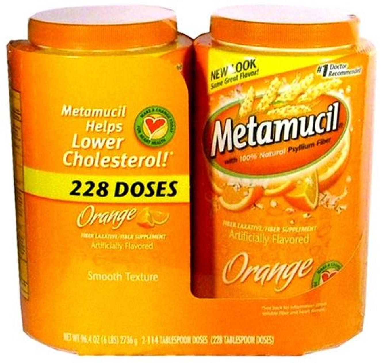 聖なる失う楽観的Metamucil Orange 6 Lbs by Metamucil