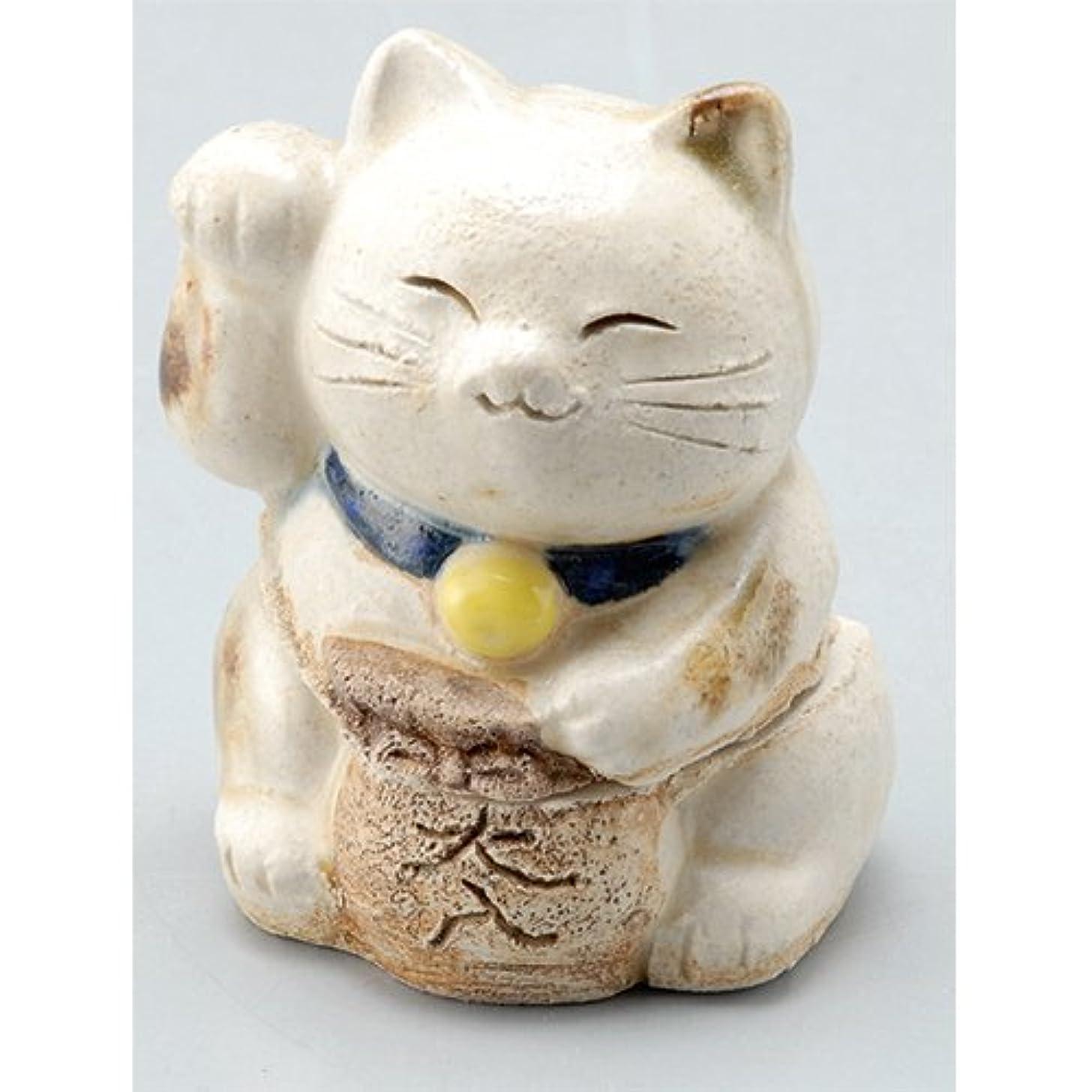 晩ごはん脊椎嵐の香炉 飾り香炉(招き猫) [H7cm] HANDMADE プレゼント ギフト 和食器 かわいい インテリア