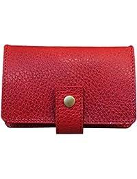 LITSTA Coin Wallet(RED/型押し)