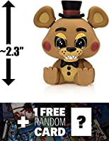 "Freddy (Sitting): ~2.3"" Funko Mystery Minis x Five Nights at Freddy's Vinyl Figure + 1 FREE Video Games Themed Trading"
