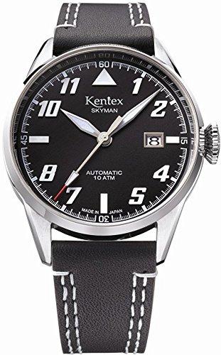 [ケンテックス]Kentex 腕時計 SKYMAN(スカイマン) 6 パイロット 自動巻き S688X-02 メンズ