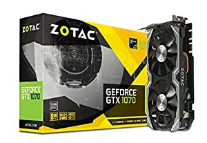ZOTAC GEFORCE GTX 1070 MINI グラフィックスボード VD6148 ZTGTX1070-8GD5MINI01