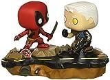 (Standard) - Funko Pop Marvel: Comic Moments-Deadpool Vs. Cable Collectible Figure, Multicolor