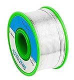 無鉛 ハンダ 鉛フリー 半田 フラックス ヤニ入り 溶接ワイヤー すず99%、銀:0.3%、銅0.7% SnAgCu系 合金 100g(0.8mm)