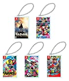 Nintendo Switch専用カードポケットmini 5種セット(ゼルダの伝説 ブレス オブ ザ ワイルド・マリオカート8 デラックス・ARMS・スプラトゥーン2・スーパーマリオ オデッセイ)
