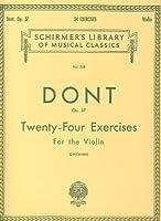 DONT - Estudios Preliminares Op.37 para Viola (Vieland)