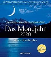 Das Mondjahr 2020: Abreisskalender