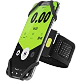 Bone ランニング スマホ アームバンド スポーツ 軽量 指紋識別 OK 通気性抜群 調節可能 取り外し簡単 4-6.5インチのスマホに対応 iPhone XS Max XR X 8 7 Plus Xperia XZ3 Galaxy S10 S9 S8 Note 9 等多機種対応 ブラック (L) Run Tie