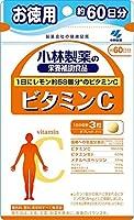 小林製薬の栄養補助食品 ビタミンC お徳用 約60日分 180粒×6個